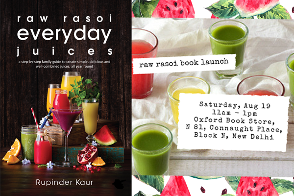 Everyday juices book launch