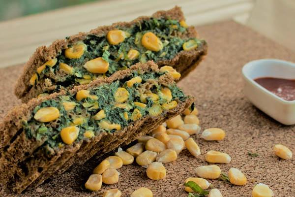 Vegan Spinach Sandwich