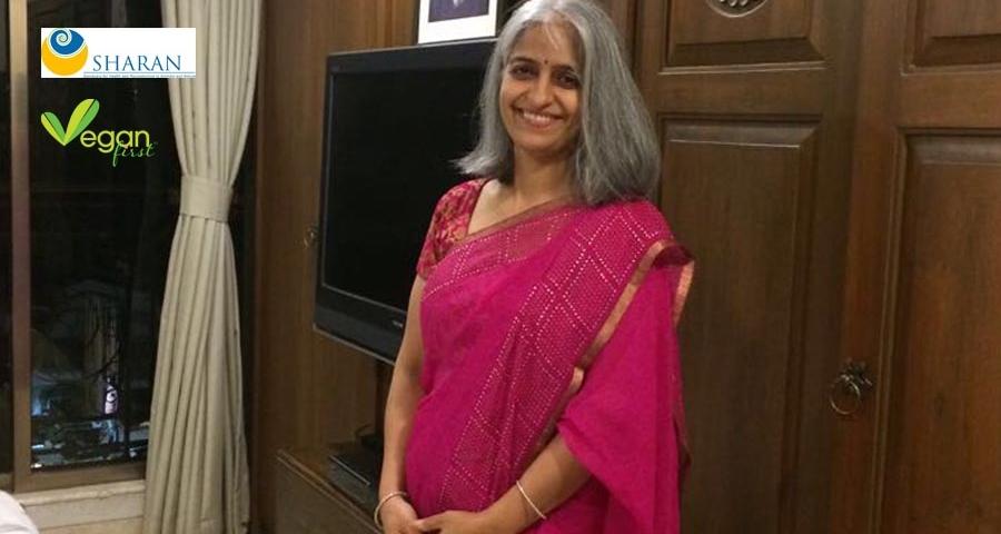 Madhavi Barot at Vegan first