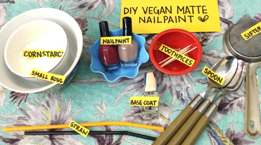 Vegan Nail Polish: Make Your Own Cruelty-Free Matte Nail